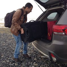 If you are travelling across country moving hotels everyday we have a #traveltip for you.  Carry a smaller bag. Maybe a backpack. And everday you can take a few clothes out of your bigger suitcase. That way you dont have to unload your suitcases out of the car everyday. #hardwork #roadtrip