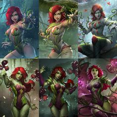 Ethereal Learn To Draw Comics Ideas. Fantastic Learn To Draw Comics Ideas. Dc Poison Ivy, Poison Ivy Dc Comics, Poison Ivy Batman, Harley Quinn, Joker And Harley, Catwoman, Batgirl, Comic Book Characters, Comic Character