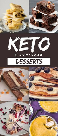 Keto desserts usually consist of ingredients that you can enjoy if you follow strict low-carb or keto lifestyle. Here are recipes we have developed for you.
