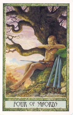 druidcraft tarot four of swords - Pesquisa Google