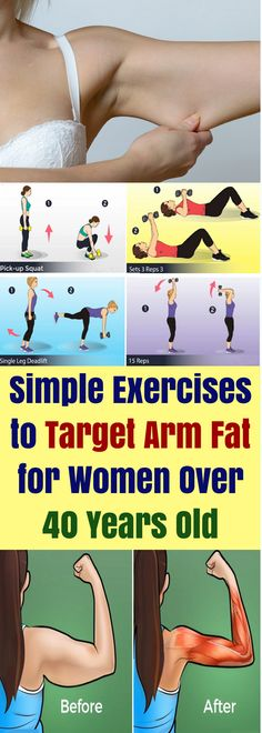 Thousands of women suffer from the problem of flabby arms...