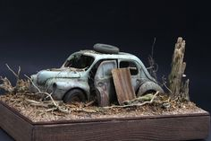 Apoloniusz Musiałek: Renault 4CV Model Cars Kits, Kit Cars, Models Men, Weather Models, Model Cars Building, Hobby Cars, Mini Car, Plymouth Belvedere, Custom Hot Wheels