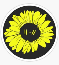 Twenty One Pilots Trench Era Sunflower Design Sticker Twenty One Pilots Drawing, Twenty One Pilots Tattoo, Twenty One Pilots Wallpaper, Forest Twenty One Pilots, Goner Twenty One Pilots, Twenty One Pilots Ukulele, Pilot Tattoo, Vinyl Record Art, Sunflower Design