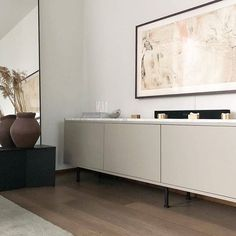 Handles store for kitchens and wardrobes Living Room Tv, Apartment Living, Home And Living, Interior Architecture, Interior Design, Storage Shelves, Decoration, Scandinavian Design, Interior Inspiration