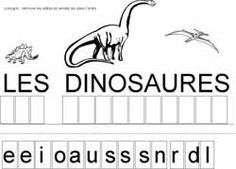 kindergarten reading large section visual discrimination Maternelle Grande Section, Dinosaurs Preschool, Early Reading, Kindergarten Reading, Working With Children, Study Notes, School Supplies, Montessori, Activities For Kids