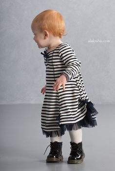 ALALOSHA: VOGUE ENFANTS: Is there anything cuter than this little princess in Biscotti look?