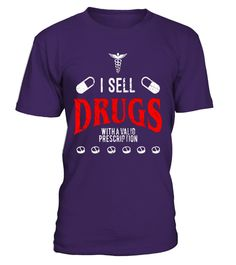 """# Funny Nurse T Shirt - I Sell Drugs With Valid Prescription .  Special Offer, not available in shops      Comes in a variety of styles and colours      Buy yours now before it is too late!      Secured payment via Visa / Mastercard / Amex / PayPal      How to place an order            Choose the model from the drop-down menu      Click on """"Buy it now""""      Choose the size and the quantity      Add your delivery address and bank details      And that's it!      Tags: This funny nurse t-shirt…"""