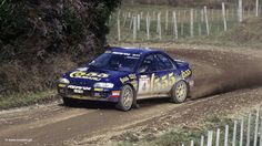 1995 - Driver: Colin McRae - Rally: New Zealand - Car: Subaru