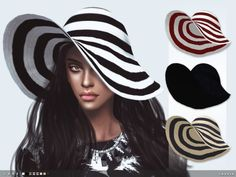 The Sims Resource: Lana Hat by toksik • Sims 4 Downloads