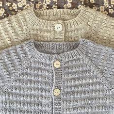 Let og lun Cardigan - opskrift fra PixenDK / CaMaRose Unisex Baby, Baby Knitting, Diy And Crafts, Let It Be, Sweaters, Cardigans, Crochet, Jackets, Image