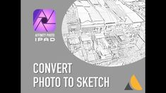 Convert any photo to pencil sketch in Affinity photo on iPad