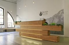 Reception desk  Creative and interesting idea   Design and Specify, office design, Leeds, Yorkshire,