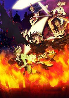 Black Clover anime reveals Devil of Kotodama Magic design and new key visual. Tsundere, Anime Naruto, All Anime, Manga Anime, Manga Boy, Anime Harem, Black Clover Manga, Cover Wallpaper, Magic Design