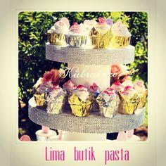 Düğün cupcake doğumgünü nişan özel günler pembe