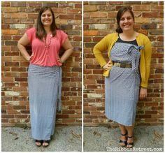 How to Make a Wrap Skirt (and Wrap Dress) - TheRibbonRetreat.com