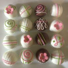 flower cake balls...