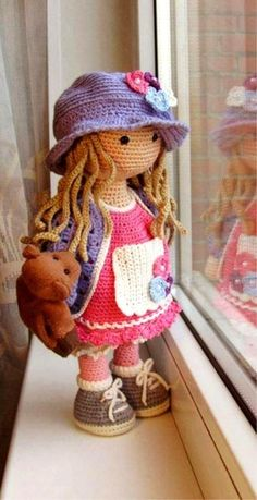 Inspired Photo of Free Crochet Doll Patterns Free Crochet Doll Patterns Amigurumi Doll Free Pattern Blocking crochet is really simple to do and requires just a couple of items. The superb thing about crochet is that… Continue Reading → 30 Cute Croche Crochet Dolls Free Patterns, Amigurumi Patterns, Knitting Patterns, Knitting Toys, Free Knitting, Knitted Dolls Free, Amigurumi Tutorial, Cute Crochet, Crochet Toys