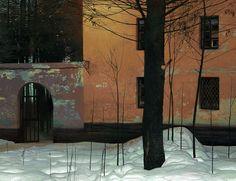 Long winter, Andrey Surnov on ArtStation at https://www.artstation.com/artwork/bV2rk