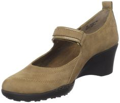 $49.99-$69.00 Aerosoles Women's Tornado Mary Jane Pump,Taupe Nubuck,8.5 M US - For superior comfort and a stylish design, you'll love this Aerosoles Women's Tornado Mary Jane Wedge. Thanks to Strobel construction (where the upper is stitched to the insole), the shoe flexes with you as you walk for a great-feeling stride. A low wedge delivers lift without sacrificing stability, and a diamond patter ...
