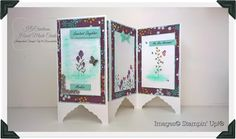 KOCreations Stampin' Up! Blog: Screen Divider Folded Card