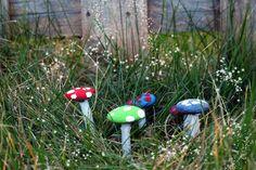 Pebble Mushrooms