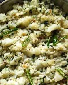 Podimas (South-Indian Style Potatoes)