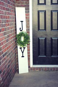 joy sign   Christmas Decor
