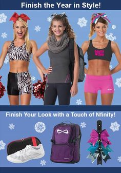 Polish off this cheer year with new practice wear and accessories from Team Cheer !