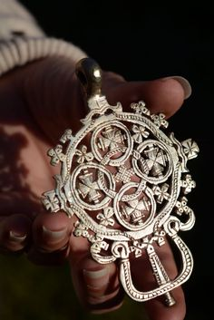 Welcome to our store Beautiful Big Ethiopian cross Pendant , Perfect for Jewelry Supplies Recommended especially for ethnic jewelry design , giving a