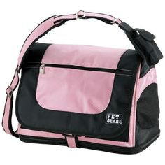 Pet Gear Messenger Bag for Cats and Small Dogs Pet Carrier Crystal Pink ** Find out more about the great product at the image link.(This is an Amazon affiliate link and I receive a commission for the sales)