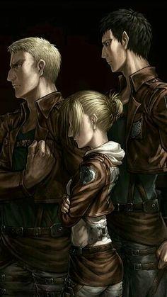 Reiner, Annie & Bertholdt