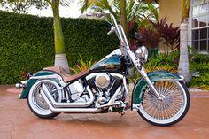 Custom 1993 Softail Heritage............... - Harley Davidson Wallpaper ID 279714 - Desktop Nexus Motorcycles