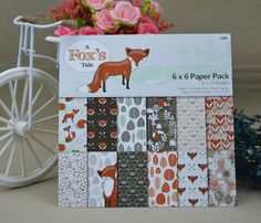 Cheap pad pad, Buy Quality pad of paper directly from China pad paper Suppliers:  FOX Scrapbooking paper pack of 24 sheets handmade craft paper craft Background pad
