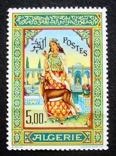 Algerian Stamp