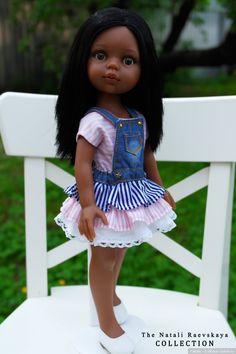 Джинсовая курточка настоящая, только в миниатюре! И другие вещички для Норы / Одежда и обувь для кукол своими руками / Бэйбики. Куклы фото. Одежда для кукол