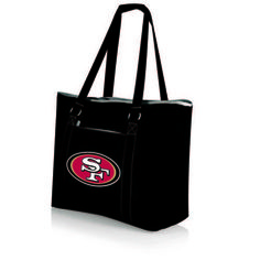 NFL Collectibles - Tahoe Cooler Tote (San Francisco 49ers) Digital Print - Black