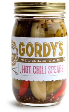 I can personally attest that these are delightful. Gordy's Pickle Jar    Made in Washington, DC