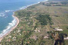 Lindo Terreno Perto Da Praia Bela De Taipus De Fora - O terreno consiste em 5 lotes de 500m ² cada, totalizando uma área de 2.500 m²