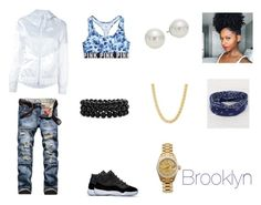 """Untitled #24"" by wrightbribri on Polyvore featuring NIKE, Rolex, BKE, Victoria's Secret, AK Anne Klein and Bling Jewelry"