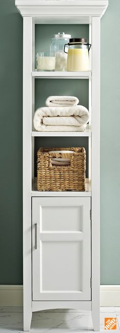 From candles and linens to toiletries, you'd be surprised how much you can store in the Avington Bath Storage Tower. Learn more at homedepot.ca: http://hdepot.ca/2wmOp3K