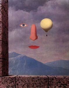 René Magritte,The Age of Enlightenment