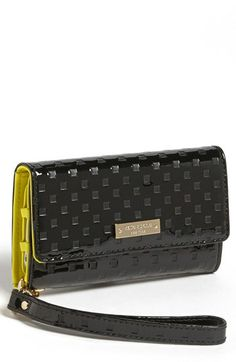 kate spade 'jewel street' iPhone 5 & 5s wristlet available at #NordstromGet your clutch on with this fancy Kate Spade wristlet. Keep all your secondarily important life items like cash, credit cards and ID with your most cherished possession - your iPhone.