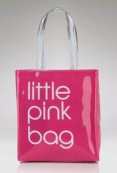 Carry all your essentials in Bloomingdale's style with this Pvc tote, printed with our signature block lettering. A reusable take on our signature brown paper shopping bag shows the world you care abo Pink Love, Pretty In Pink, Pink And Green, Hot Pink, Purple, Magenta, Color Rosa, Pink Color, Vintage Pink