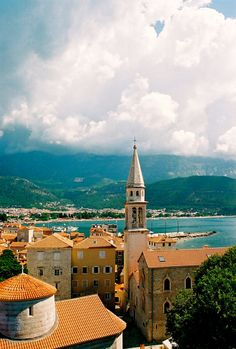 Old Town of Budva, Montenegro