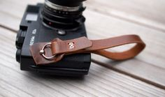 camera strap by Wood and Faulk