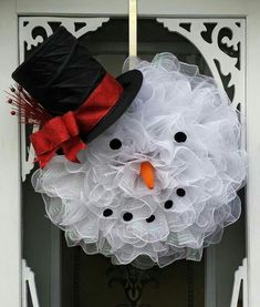 Super cute. Should make for my mothers snow man addiction. - Crafting For Holidays