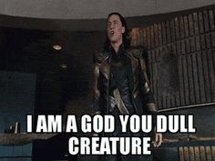 Poor Loki...I love him, but this scene will always be funny. @rhondachase61