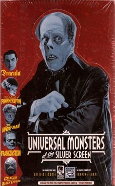 Classic Monster trading cards!
