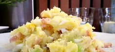 Snelle preistamppot met ei en reepjes kalkoen