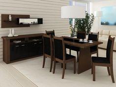 Esse conjunto de mesa e cadeiras trazem  um ar de elegância e modernidade, não é lindo?
